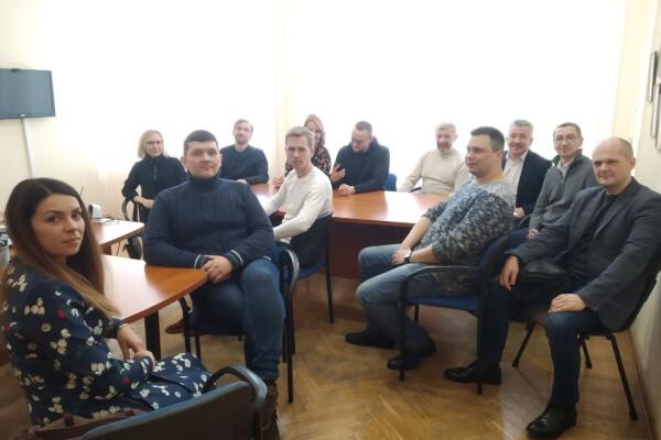 Відбулась зустріч учасників Rivne IT cluster з керівником Управління освіти і науки РОДА